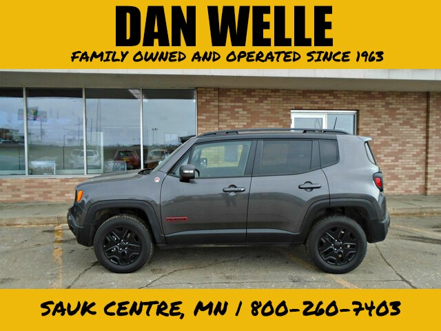 Certified Pre-Owned 2018 Jeep Renegade Trailhawk