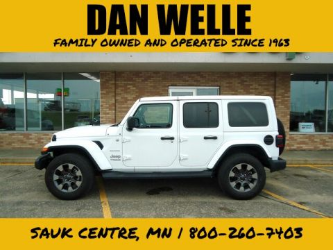 Certified Pre-Owned 2018 Jeep Wrangler Unlimited Sahara 4WD SUV