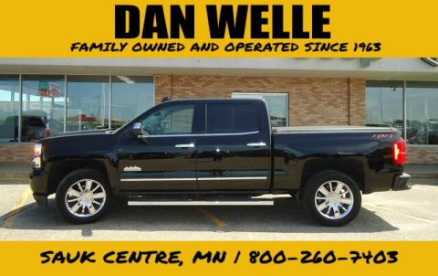 Pre-Owned 2018 Chevrolet Silverado 1500 Crew High Country 4WD Truck